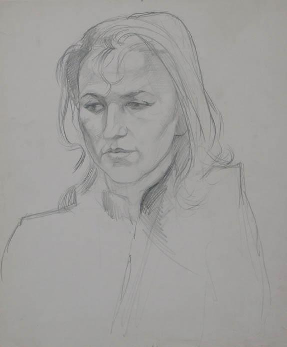 Alexander alyoshin - russian artist * graphics * portraits * pencil
